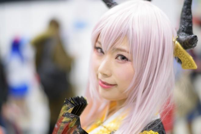 『アニメジャパン2019』コスプレイヤー・ちなもんさん<br>(『FGO』清姫)