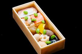 富山伝統の「押し寿司」(北陸新幹線上り)