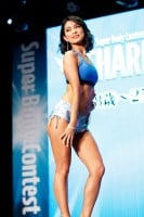 『Super Body Contest TOKYO FINAL』CHARMクラス1位・徳永悠里さん 撮影/徳永徹 (C)oricon ME inc.