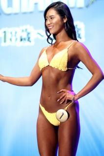 『Super Body Contest TOKYO FINAL』CHARMクラス4位・上村ゆうかさん 撮影/徳永徹 (C)oricon ME inc.