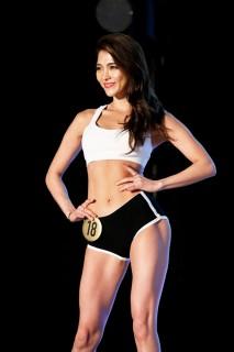 『Super Body Contest TOKYO FINAL』ELEGANTクラス ファイナリスト・山本鈴さん 撮影/徳永徹 (C)oricon ME inc.