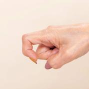 """【ほっぺたアップップ3(指)】""""鍵の指""""を作りましょう"""