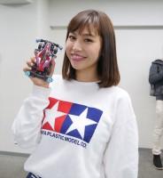 ミニ四駆女子として有名なタレント・かえひろみ