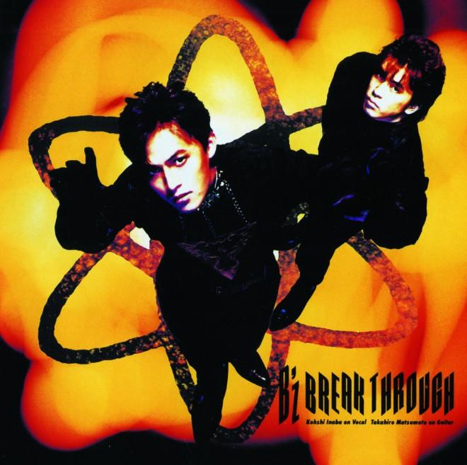 3rdアルバム『BREAK THROUGH』(1990年2月21日発売)