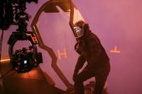 渡辺謙のメイキングカット『ゴジラ キング・オブ・モンスターズ』(C)2019 Legendary and Warner Bros. Pictures. All Rights Reserved.