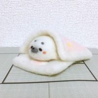 (動物別売り)ぬくぬくお布団・ピンク