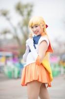 『acosta!(アコスタ)@としまえん 4月14日開催』コスプレイヤー・もえみんさん<br>(『美少女戦士セーラームーン』セーラーヴィーナス)