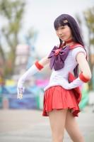 『acosta!(アコスタ)@としまえん 4月14日開催』コスプレイヤー・綺夜さん<br>(『美少女戦士セーラームーン』セーラーマーズ)