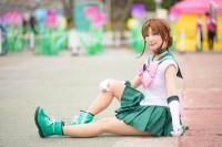 『acosta!(アコスタ)@としまえん 4月14日開催』コスプレイヤー・かこさん<br>(『美少女戦士セーラームーン』セーラージュピター)