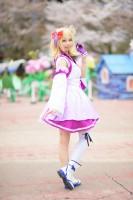 『acosta!(アコスタ)@としまえん 4月14日開催』コスプレイヤー・芍薬さん<br>(『ラブライブ!サンシャイン!!』小原鞠莉)