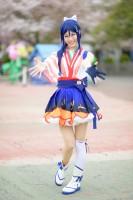 『acosta!(アコスタ)@としまえん 4月14日開催』コスプレイヤー・minさん<br>(『ラブライブ!サンシャイン!!』松浦果南)