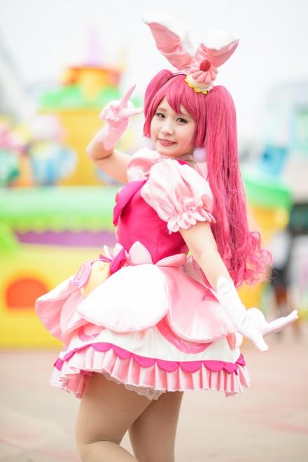 『acosta!(アコスタ)@としまえん 4月14日開催』コスプレイヤー・ゆうさん<br>(『キラキラ☆プリキュアアラモード』キュアホイップ)