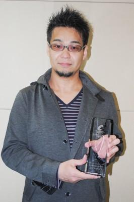 脚本賞を受賞した武藤将吾氏