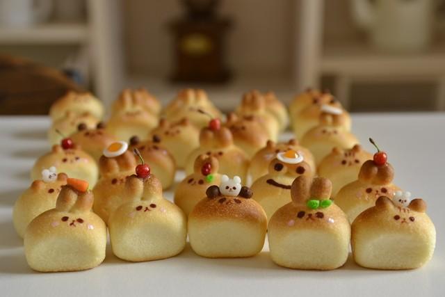 動物食パン