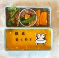 長女弁当。「ダイエットの為にお米を少なくしたりするのは良いんですが、代わりに間食するの意味なくね」制作&写真/Takeshi