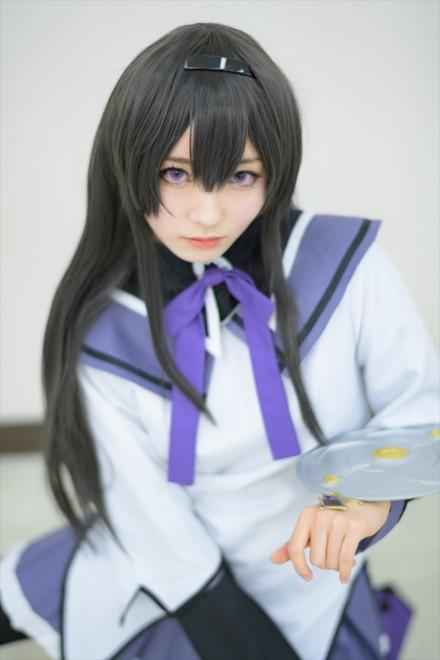 『acosta!(アコスタ)@池袋サンシャインシティ 4月20日開催』コスプレイヤー・雪村ユノさん<br>(『魔法少女まどか☆マギカ』暁美ほむら)