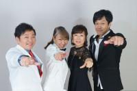 (左から)山口勝平、高山みなみ、山崎和佳奈、小山力也(C)ORICON NewS inc.