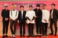 『KCON 2015 JAPAN』に出演したBlock B