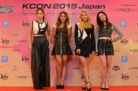『KCON 2015 JAPAN』に出演したSISTAR