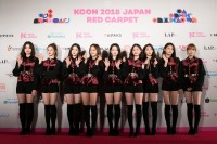『KCON 2018 JAPAN』に出演したgugudan