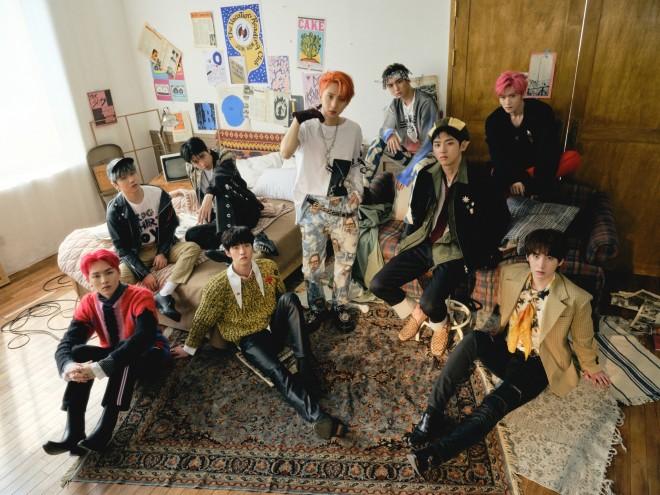韓国、日本、中国出身の9人組男性アイドルグループ・PENTAGON
