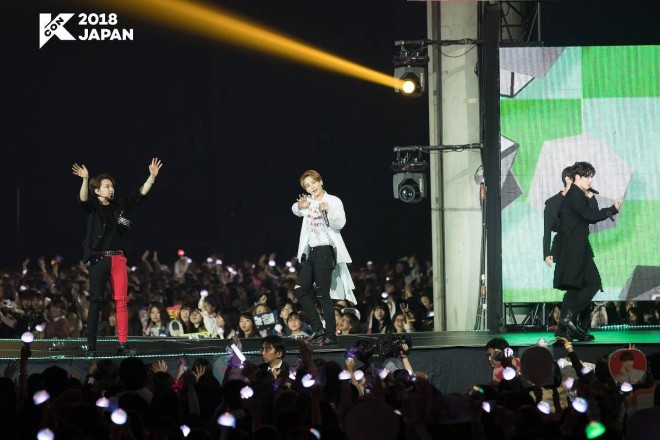 『KCON 2018 JAPAN』に出演したSEVENTEEN