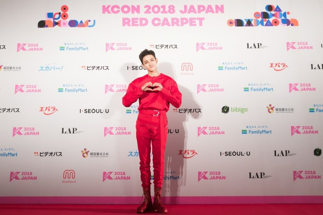 『KCON 2018 JAPAN』に出演したSamuel