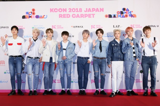 『KCON 2018 JAPAN』に出演したSF9