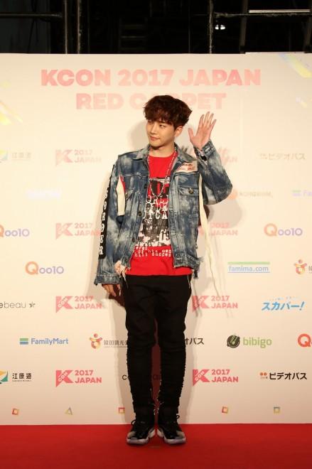 『KCON 2017 JAPAN』に出演したJUNHO(From 2PM)
