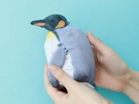 手のひらサイズであるオウサマペンギン
