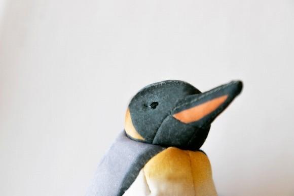 オウサマペンギンの顔