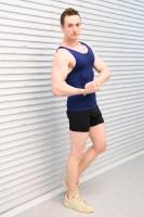 NHK『みんなで筋肉体操』のコスプレで登場したコスプレチーム「肉体造形部」のメンバー・Billyさん