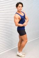 NHK『みんなで筋肉体操』のコスプレで登場したコスプレチーム「肉体造形部」のメンバー・よみめいとさん