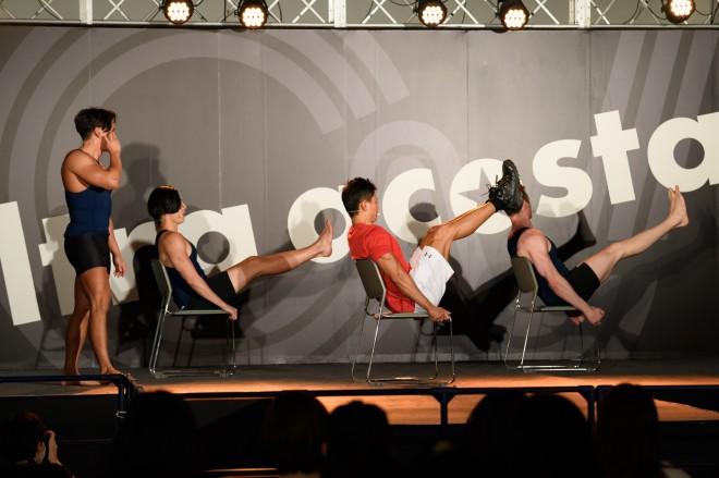 NHK『みんなで筋肉体操』のコスプレで登場したコスプレチーム「肉体造形部」