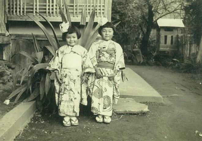 プライベートの写真。幼少時代