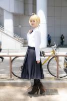 『ホココス 〜南大津通歩行者天国COSPLAY〜』コスプレイヤー・はこさん<br>(『Fate』アルトリア)