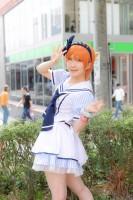 『ホココス 〜南大津通歩行者天国COSPLAY〜』コスプレイヤー・鹿さん<br>(『ラブライブ!』星空凛)