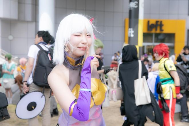 『ホココス 〜南大津通歩行者天国COSPLAY〜』コスプレイヤー・後藤さん<br>(『FGO』カーマ)