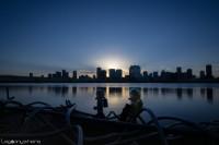 夜明け前の散策@大阪