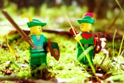 レゴを使った「オモ写」の最初の作品