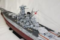 作品:1/200 大日本帝国海軍戦艦「武蔵」/制作:海志