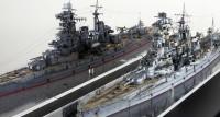作品:フジミ模型 1/700 日本海軍高速戦艦「金剛」/制作:ヤマトP(@YamatoP256)
