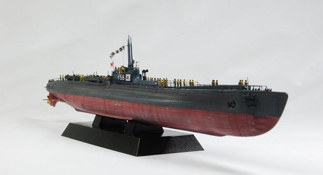 作品:1/350 大日本帝国海軍潜水艦「伊-58」回天搭載 前期