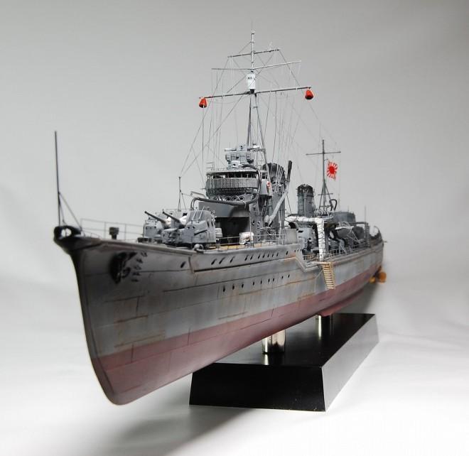 作品:1/200 大日本帝国海軍陽炎型駆逐艦「天津風」/制作:海志