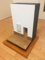 【小人の階段】の仕掛けは…「壁ごと作ってiphoneを差し込んで撮影しました〜!」制作・写真/Mozu