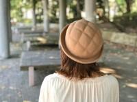 『KENT HAT』の『メロンパンハット』