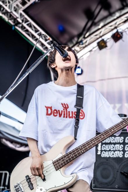 Vo&Ba アマダシンスケ 「TOKYO METROPOLITAN ROCK FESTIVAL 2019」より photo by masalivephoto