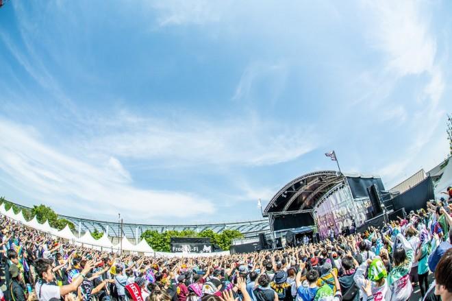「TOKYO METROPOLITAN ROCK FESTIVAL 2019」の様子 photo by masalivephoto