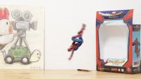 飛び回る『スパイダーマン』