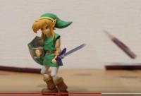 『ゼルダの伝説』リンク 神々のトライフォース2ver. 剣で鉛筆を一刀両断!